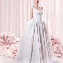 Платье в стиле барокко свадебное