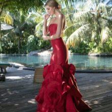 Весеннее платье русалка от Тарик Эдиса