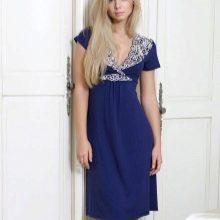 Домашнее платье длины миди
