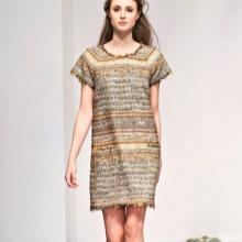 Укороченное платье-мешок