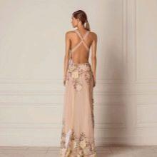 Платье в пол летнее вечернее с принтом
