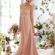 Платье в стиле ампир розовое