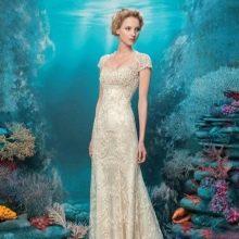 Платье в стиле ампир кружевное