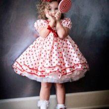 Пышное платье для девочек 3-5 лет