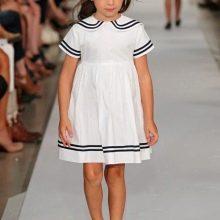 Летнее платье для девочек а-силуэта