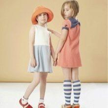 Летнее платье-трапеция для девочек