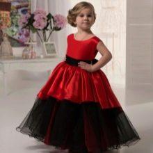 Нарядное платье для девочки 4-5 лет пышное в пол