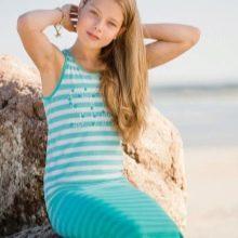 Летнее платье для подростка