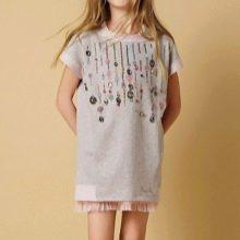 Летнее платье-туника для подростка