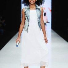 Платье для подростка на каждый день белое