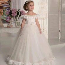 Выпускное платье в детский сад белое