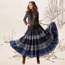 юбка с воланами на весну
