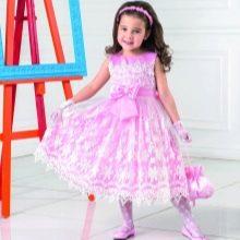 Новогоднее кружевное платье для девочки