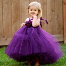 Платье-юбка туту для девочки пышное из фатина