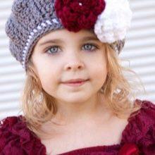 вязаные шапки для девочек 91 фото для подростков 12 14 лет и