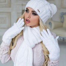 вязаные шарфы 105 фото модные тенденции 105 красивые модели