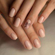 Ногти Белые С Золотом Дизайн Фото
