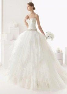 Пышное свадебное платье Кастро