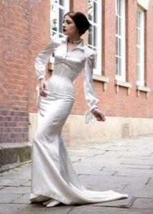 Свадебный корсет в строгом стиле