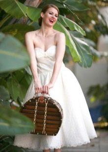 Свадебный корсет в стиле ретро