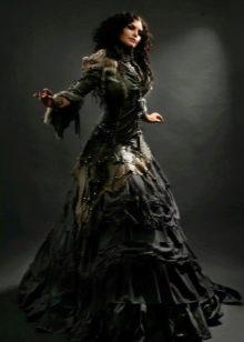 Свадебное платье готическое