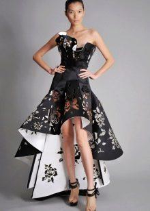 Свадебное платье из перфорированной бумаги