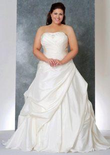 Свадебное платье для девушки с пышной грудью