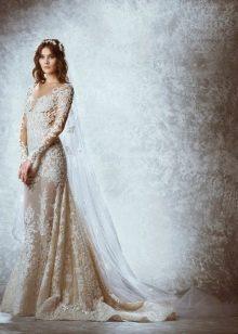 Ажурное свадебное платье от Зухаира Мурада