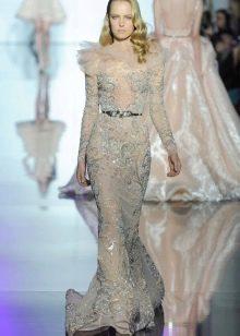 Платье кружевное свадебное от Зухаира Мурада
