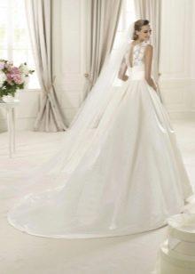Пышное платье свадебное от Проновиас