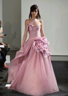Вера Вонг цветные свадебные платья