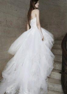 Пышное свадебное платье от Вонг
