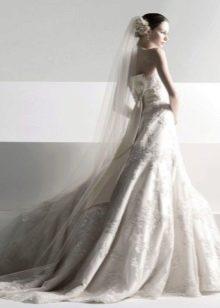 Свадебное платье от Олега Касини