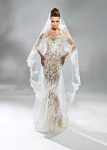 Свадебное платье кружевное от Богдан Анны