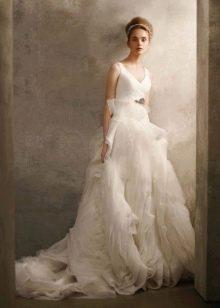 Свадебные платья Веры Вонг из органзы