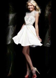 Короткое платье летнее свадебное