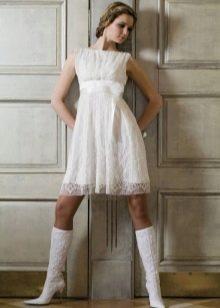 Обувь к свадебному летнему платью