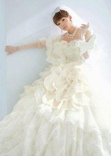 Scena D'Uno белое свадебное платье