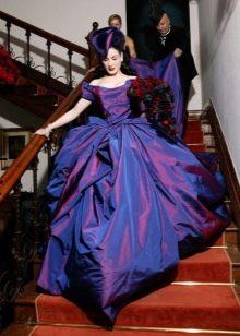 Цветное свадебное платье Диты фон Тиз