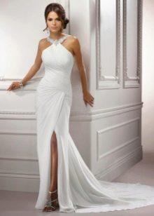 Свадебное платье в стиле ампир простое