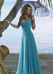 Свадебное платье бирюзового цвета