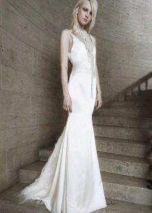 Простое свадебное платье от Веры Вонг