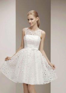 Невеста в простом платье
