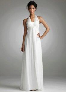 Простое, но красивое свадебное платье