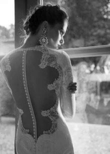 Berta Bridal свадебные платья с открытой ажурной спиной