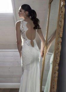 Свадебное платье Riki Dalal с открытой спиной