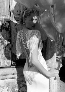 Свадебное платье Galia Lahav с открытой спиной