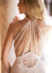 Свадебное платье сексуальное с открытой спиной русалка