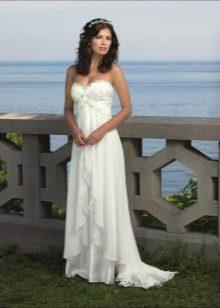 Свадебное платье Ампир для невысоких