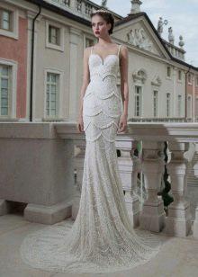 Бретели на свадебном платье